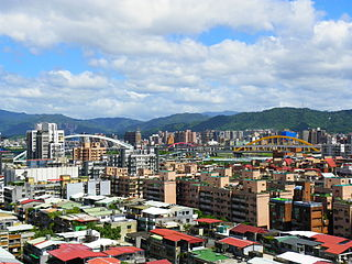 Songshan District, Taipei District in Eastern Taipei, Republic of China