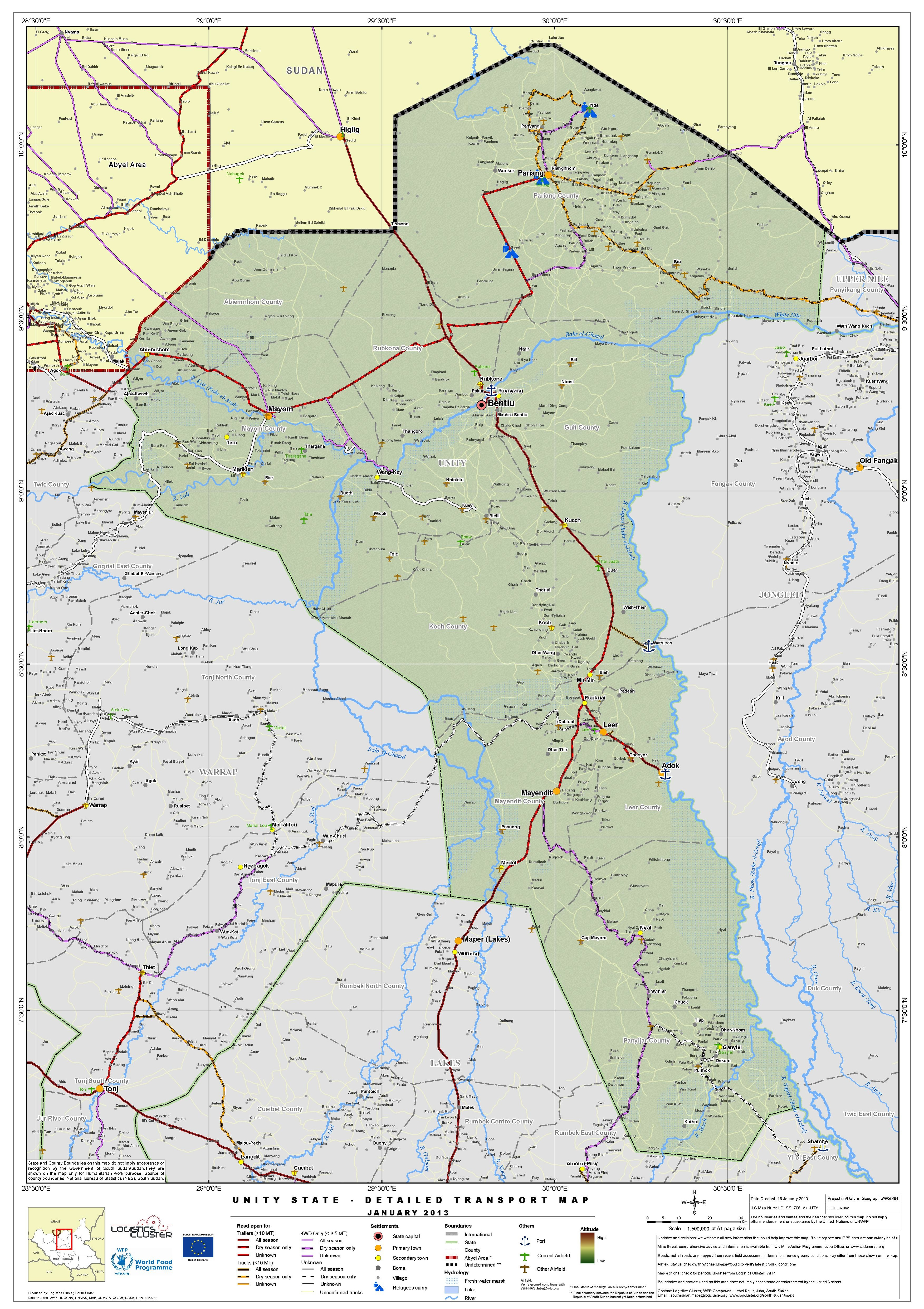 Filesouth sudan unity state detailed transport map jan 2013pdf filesouth sudan unity state detailed transport map jan 2013pdf gumiabroncs Images