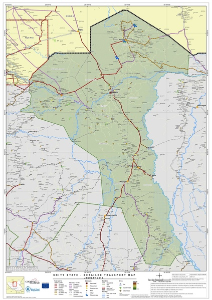File South Sudan Unity State Detailed Transport Map Jan 2013 pdf