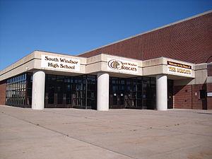 South Windsor High School - Image: South Windsor High School