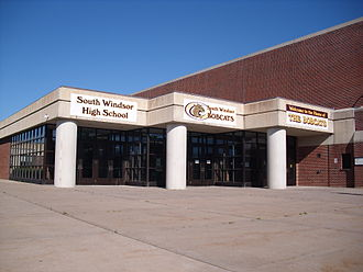 South Windsor High School - Image: South Windsor High School