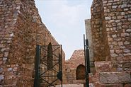South gate entry to Tughlaqbad fort