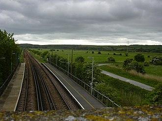 Southease railway station - Image: Southease Station surroundings (south)