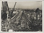 Southern approach to the Harbour Bridge, 1932 (8282705723).jpg