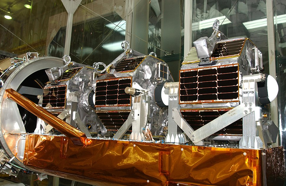 Space Technology 5 on payload structure