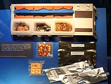 space shuttle food - photo #2