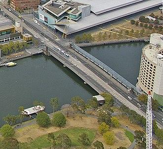 Spencer Street Bridge - Image: Spencer Street Bridge