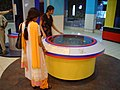 Spinning Eraser - Dynamotion Hall - Science City - Kolkata 2006-06-21 04549.JPG