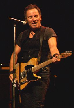 Springsteen with Telecaster cropped