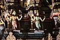 Sri Mahamariamman Temple, Kuala Lumpur. Gopuram from the East. Sculpture. 2019-12-10 22-09-29.jpg