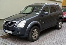SsangYong Rexton II frontale della versione 2006