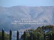 "The ""South San Francisco The Industrial City"" sign"