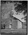 St. John the Evangelist Church (Roman Catholic), State Routes 3 and 311, Sweet Springs, Monroe County, WV HABS WVA,32-SWESP,6-2.tif