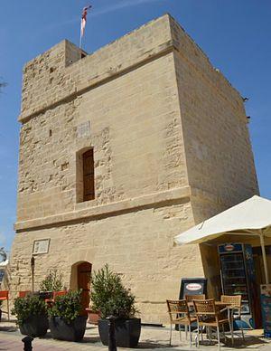 Saint Julian's Tower - Image: St. Julian's Tower 4