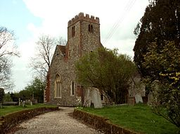 St. Mary the Virgin church, Lindsell, Essex - geograph.org.uk - 160044.jpg