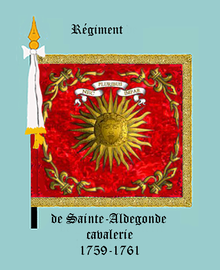 Image illustrative de l'article Régiment de Sainte-Aldegonde cavalerie