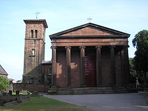 Rainhill - Image: St Bartholomew's Church, Rainhill
