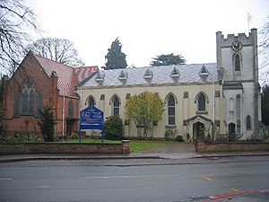 Shirley, West Midlands - Image: St James the Great, Shirley geograph.org.uk 85912