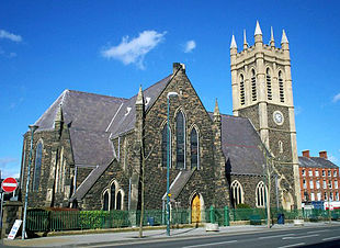 St Mark's Church of Ireland in central Portadown