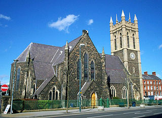 Portadown town in County Armagh, Northern Ireland