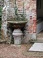 St Protase and St Gervase, Little Plumstead, Norfolk - Stoup - geograph.org.uk - 312384.jpg