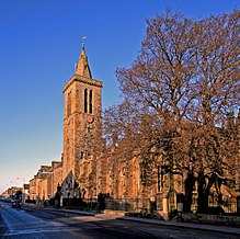 St Salvators chapel and north street -St Andrews.jpg