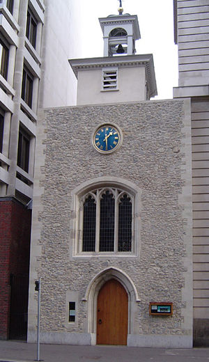 St Ethelburga's Bishopsgate - Current church building