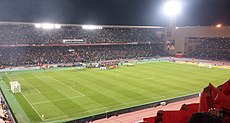 El Estadio de Marrakech, sede de la final.