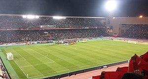 Das stadion beim fifa klub wm finale 2013 fc bayern münchen raja