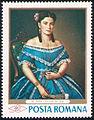 Stamp 1968 - Misu Popp - Portret de fata.jpg