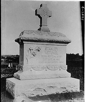 Stanley Ketchel - Ketchel's Gravestone