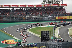 2012 Brazilian Grand Prix - Start of the race
