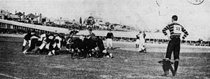 1899 British Lions tour to Australia - Queensland plays Mullineux's English Team at Rugby Union in Brisbane