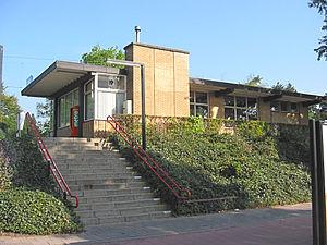 Soest Zuid railway station - Image: Station Soest Zuid voorzijde