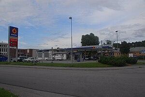 Statoil (fuel station) - A Statoil fuel station in Steinkjer, Norway