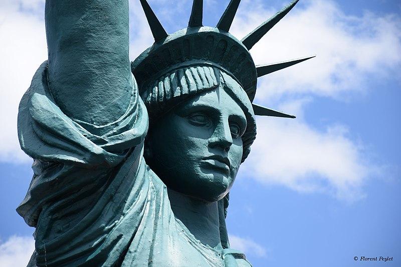 Fichier:Statue de la Liberté en 2019.jpg