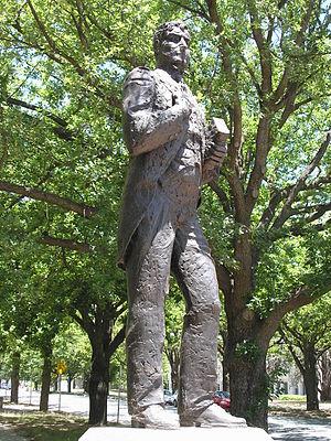 Edmund Barton Building - Image: Statue of Edmund Barton