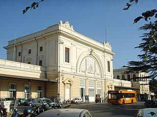 railway line in Italy