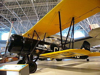 Stearman 4 - A Stearman 4-EM Senior Speedmail in the Canada Aviation Museum.