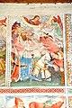 Steinfeld Gerlamoos Filialkirche heiliger Georg Freske 11 Enthauptung Himmel-Aufnahme 20122012 971.jpg