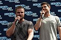 Stephen Amell and Robbie Amell HVFFLondon2017Amell-ALS-30 (35183291551).jpg