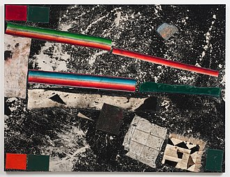 Sterling Ruby - BC (3549) Sterling Ruby, Collage, 2011