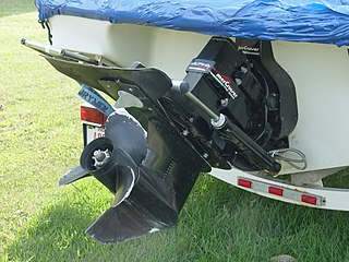 Sterndrive Marine propulsion system for inboard motor using a steerable outboard drive leg