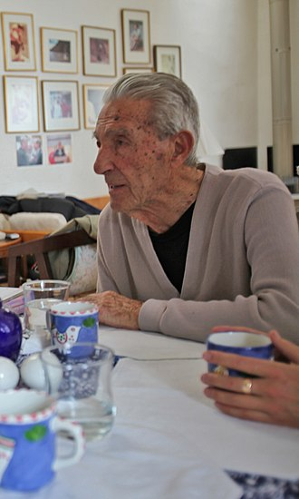 Stewart Udall - The still-active Stewart Udall at home January 23, 2010, less than two months before his death at age 90