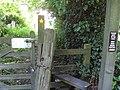 Stile, Woodbank - DSC06415.JPG