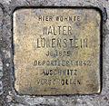 Stolperstein Almstadtstr 45 (Mitte) Walter Löwenstein.jpg
