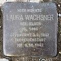 Stolperstein Barbarossastr 45 (Schön) Laura Wachsner.jpg
