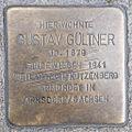 Stolperstein Gustav Gueltner by 2eight 3SC1447.jpg