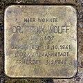 Stolperstein Hewaldstr 6 (Schön) Felix Wolff.jpg