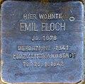 Stolperstein Köln, Emil Bloch (Lütticher Straße 43).jpg